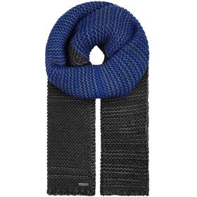 Giesswein Delpsjoch Halstørklæde, sort/blå